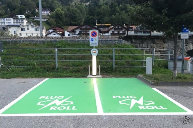 Plug'n Roll charging Station Ilanz