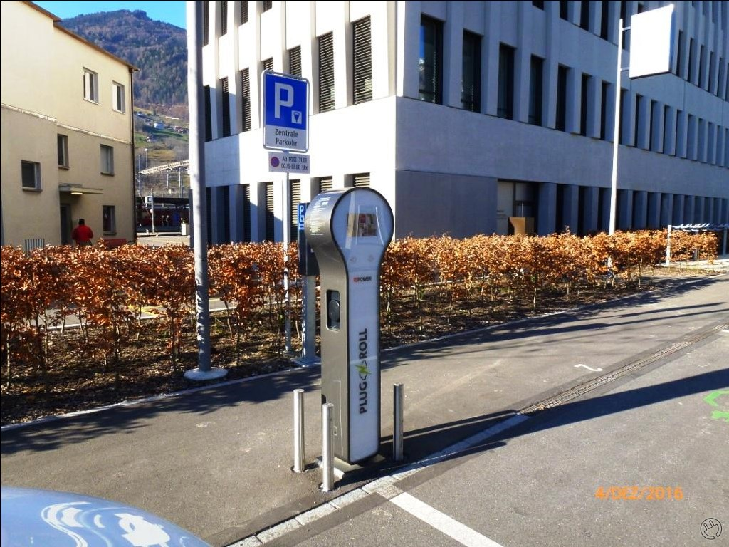 Plug'n Roll charging Station Landquart